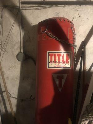 Like brand new punching bag for Sale in Philadelphia, PA