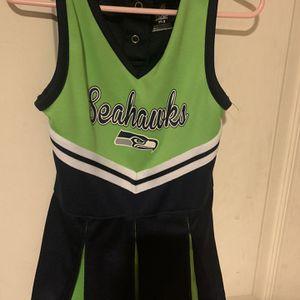 Seahawks CheerleaderThe Sea Gals Kids Uniform Size 3T for Sale in Chino Hills, CA
