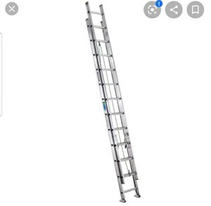 24 FT LADDER USE ONE FOR SALE for Sale in McDonough, GA