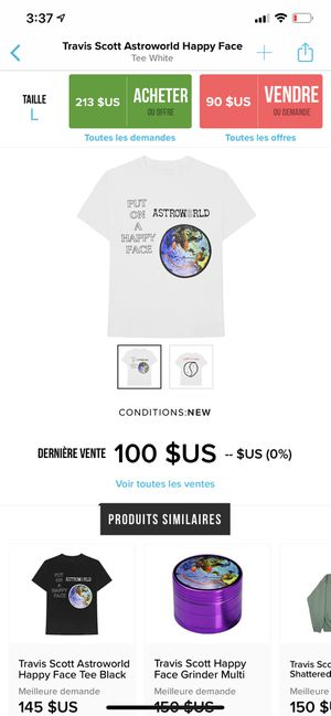 Astroworld t shirt Travis Scott for Sale in Maitland, FL