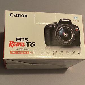 Canon EOS Rebel T6 for Sale in Laveen Village, AZ