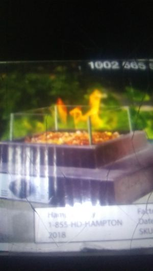 Propane table top fire pit,in box unused for Sale in Brown City, MI