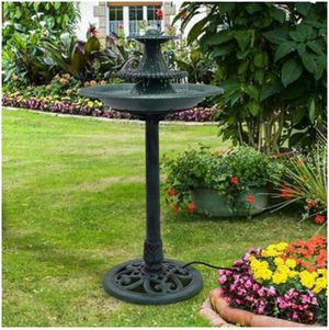 3 Tiers Outdoor Bird Decor Pedestal Water Fountain with Pump for Sale in Brooklyn, NY