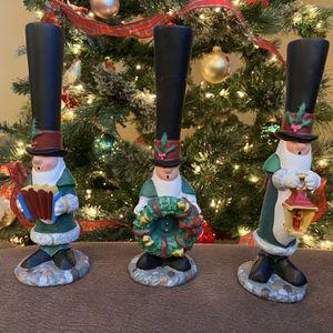 J Adams N Pole Christmas Decoration Caroling Society Set for Sale in Graham, WA