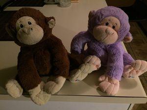 WJrMonkey teddy bears for Sale in Virginia Beach, VA
