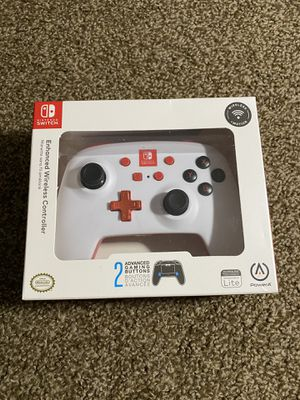 Nintendo Switch Enchanted Wireless Controller White for Sale in Bremerton, WA