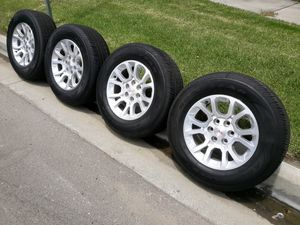 """18"""" GMC RIMS AND TIRES for Sale in Fontana, CA"""
