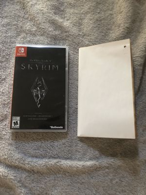 Skyrim Nintendo switch for Sale in MONTGOMRY VLG, MD