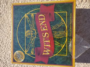 $30 WITS END BOARD GAME for Sale in Las Vegas, NV