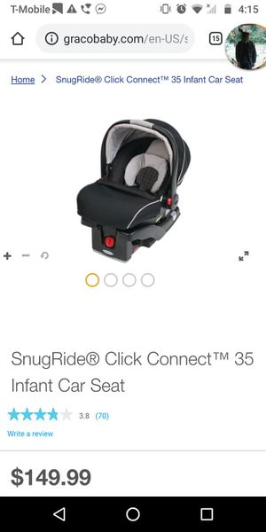 Graco car seat click connect for Sale in Shelton, WA