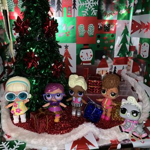 huge LOL lot dolls and perfect for Xmas for Sale in Tamarac, FL