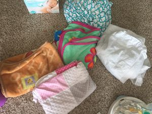 Baby blankets and crib sheet and protector for Sale in O'Fallon, MO