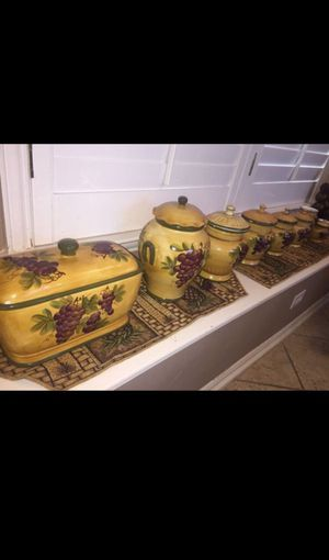 Kitchen Canister Set Like New for Sale in Westerville, OH