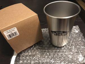 Vans Stainless Steel 160z. Cup & Vans Family Sticker Pack for Sale in Bellflower, CA