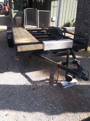 16' deck car trailer for Sale in Bonney Lake, WA