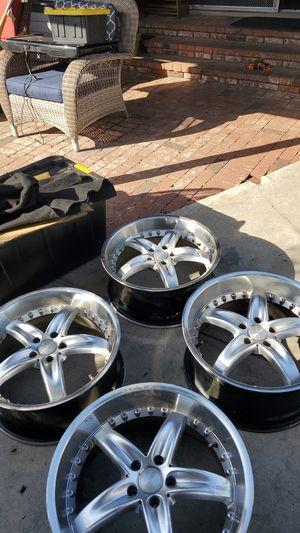 "20"" Wheels Staggered Set Elegante for Sale in Santa Fe Springs, CA"