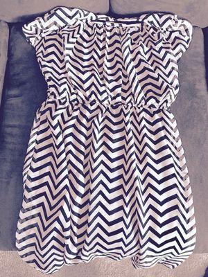Navy Blue & White Dress - M for Sale in Nashville, TN