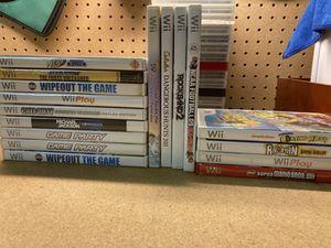 Nintendo Wii games for Sale in Jonestown, PA