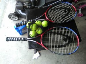 2 Ti Conquest Tennis Rackets for Sale in Riverview, FL