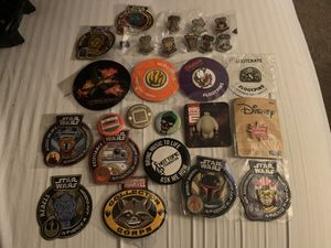 Funko Exclusives Rare Patches Pins Star Wars Marvel Disney Entire Lot for Sale in Phoenix, AZ