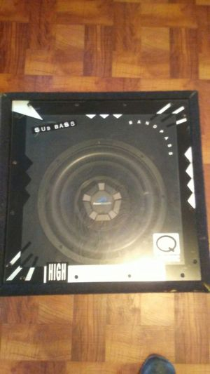 Subwoofer Bass for Sale in Hyattsville, MD