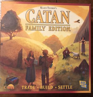 Settlers of Catan Board Game Family Edition for Sale in Seattle, WA
