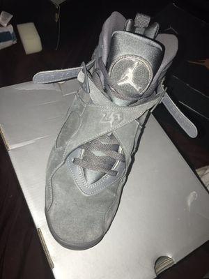 Air Jordan 8 retro Cool grey for Sale in Zebulon, NC