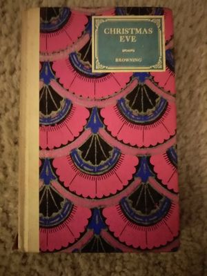Antique book Christmas Eve By Robert Browning for Sale in Kingsport, TN
