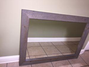 Wooden frame , mirror for Sale in Pollock, LA