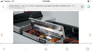 Husky low side truck box for Sale in Nashville, TN