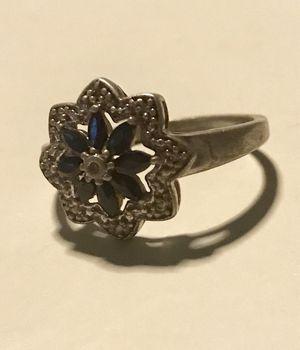 Safire & Diamond Ring size 10 for Sale in Cumming, GA