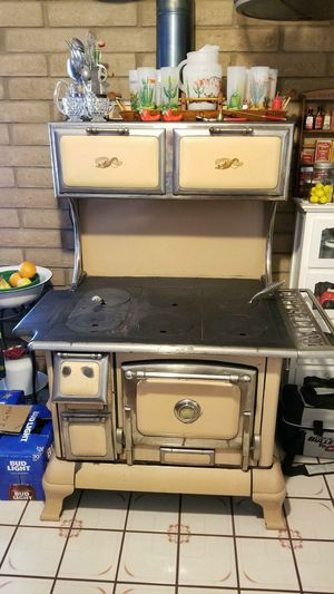 Copper clad antique wood burning cook stove for Sale in Tempe, AZ
