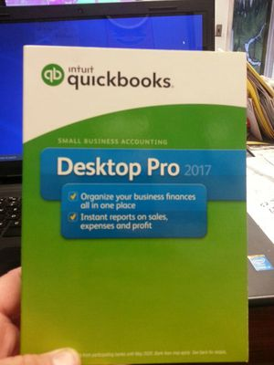 The new Intuit Quick books Software for Windows 10. Just bought it and can not figure it out . Will sell it is brand new. Make an offer. for Sale in Mount Hope, KS