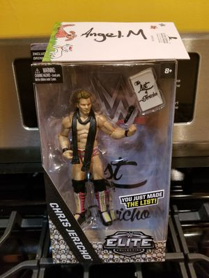 """WWE """"You Just Made The List"""" Chris Jericho - Elite Exclusive Toy Wrestling Action Figure for Sale in Chicago, IL"""