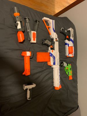 Nerf guns and accessories for Sale in Berwyn, IL