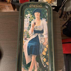 Vintage 1972 Coca Cola Tray for Sale in Henderson, NV