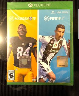 Madden 19 and fifa 19 bundle for Sale in Santa Ana, CA