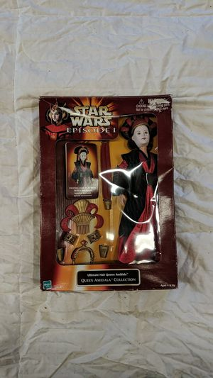 1998 Queen Amidala Star Wars Vintage Action Figure for Sale in Chico, CA