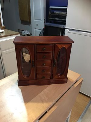 Antique jewelry box armoire for Sale in Powder Springs, GA