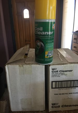 10 brand new coil cleaner for air conditioner or heater for Sale in Valley Center, CA