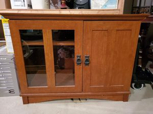 Beautiful wooden TV stand for Sale in Macomb, MI