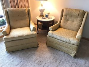 Two Vintage Matching Chairs for Sale in Waterford, PA