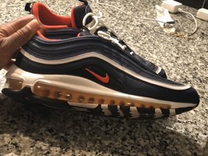 Air Max 97 Midnight Navy Habanero Red for Sale in Tampa, FL