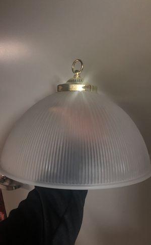 Glass pendant light fixture for Sale in Malden, MA