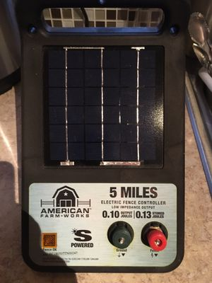 Solar panel for electric fence for Sale in Clermont, FL