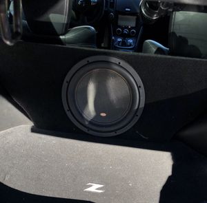 """Nissan 370Z 1-12"""" Subwoofer Box W/Memphis M5 Series Subwoofer for Sale in Ruston, WA"""