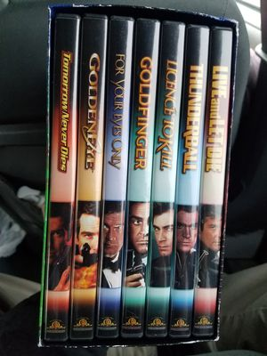 The james bond collection for Sale in Murray, KY