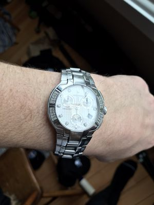 Men's diamond Accutron watch for Sale in Portland, OR