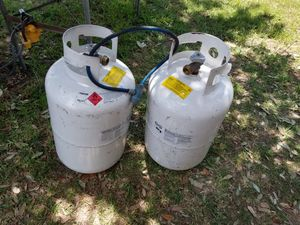 RV empty propane tanks for Sale in Spring, TX