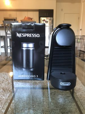 Nespresso Espresso Maker and Milk Frother for Sale in Portland, OR